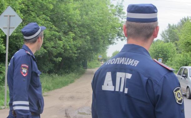 Алексинские полицейские поймали пьяного водителя