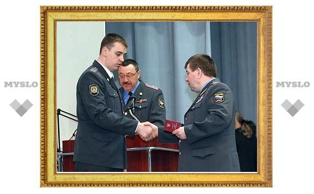 Полицейских наградили медалями «За спасение погибавших»