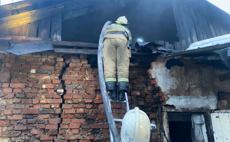 При пожаре в селе Пришня под Тулой погиб человек