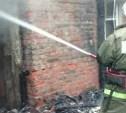 В Левобережном под Белевом загорелся жилой дом