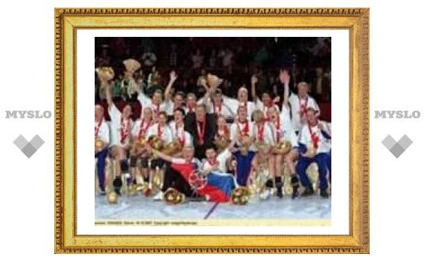 Россиянки подтвердили звание чемпионок мира