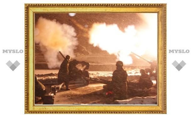 Тульские десантники впервые провели праздничный салют