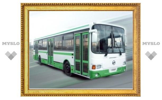 В выходные тульские автобусы поменяют маршрут