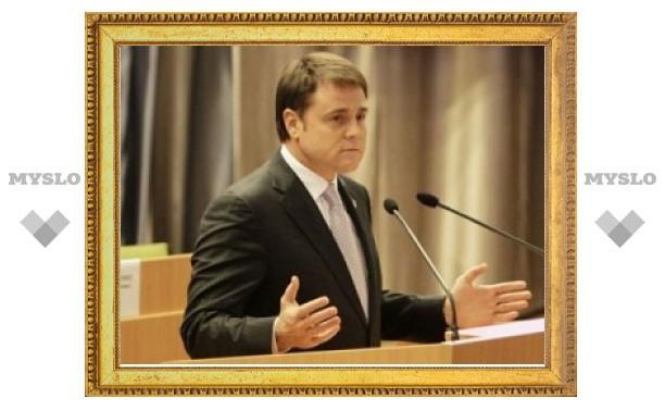 Губернатор Тульской области Владимир Груздев принял участие в заседании Ассоциации юристов России