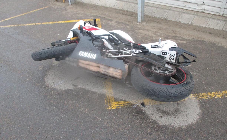 В Ефремове в ДТП пострадал 17-летний мотоциклист