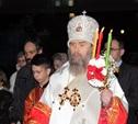 Тульский митрополит провел Пасхальное богослужение