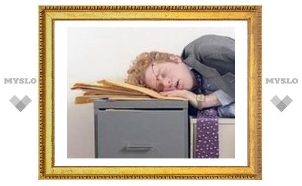 Американцев сводит с ума хроническое недосыпание