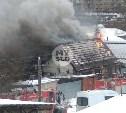 В Туле на ул. Фурманова загорелся частный дом