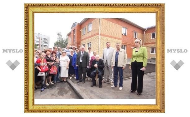 Жители Тульской области получили ключи от новеньких квартир