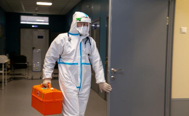 За сутки в Тульской области подтвердились 49 случаев коронавируса