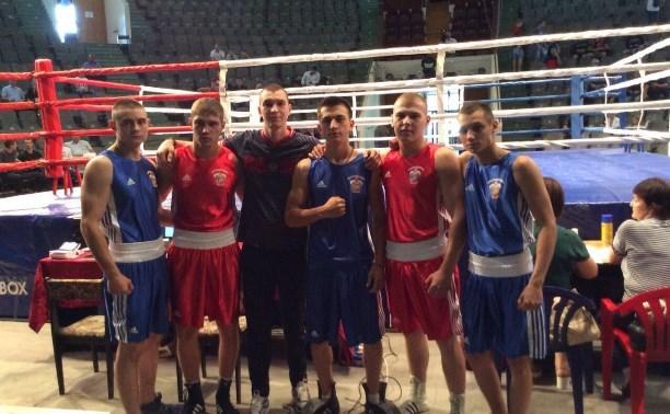 Тульские боксеры выступят на соревнованиях в составе сборной России