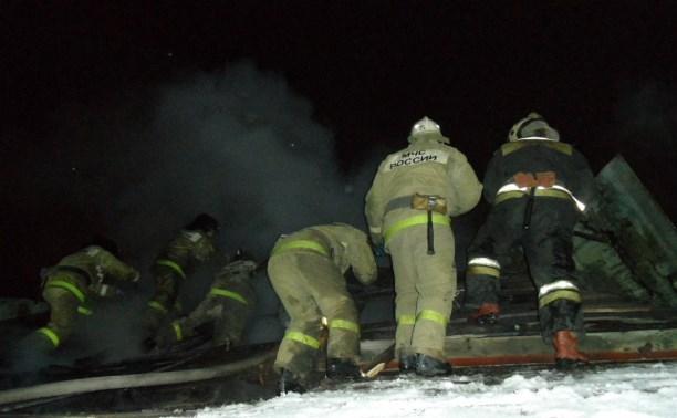 В жилом доме на улице Кирова в Туле бушевал пожар
