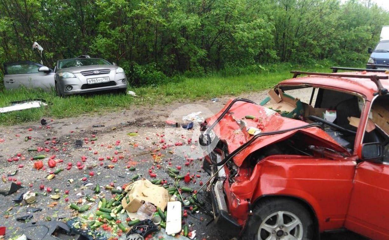 В ДТП с пострадавшими под Тулой виноват водитель иномарки