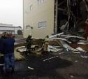 В Новомосковске в цеху по производству соли обрушилась стена