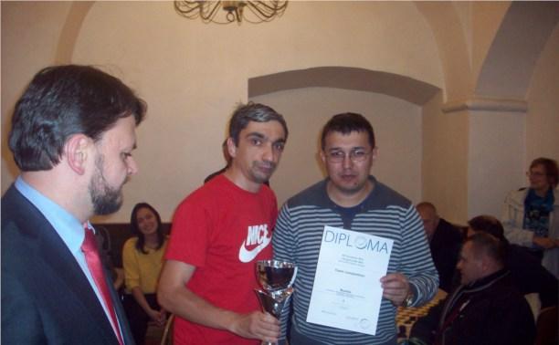Тульский шашист проявил себя в командном зачёте на Чемпионате Европы