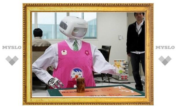 В Южной Корее показали очередных роботов-помощников