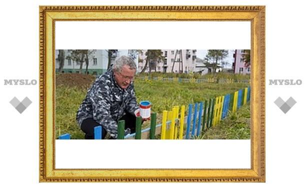 В Туле начался конкурс на лучший двор
