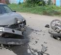 Под Тулой мотоциклист без прав устроил ДТП