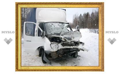 """Под Тулой в ДТП погиб водитель """"ГАЗели"""""""