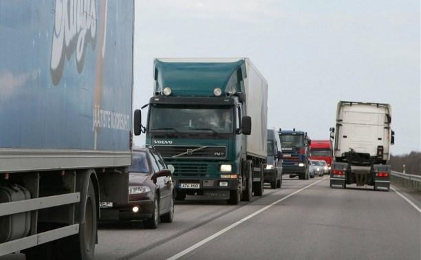 Незарегистрированные в системе «Платон» грузовики больше не смогут ездить по федеральным дорогам