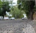 Доделать дорогу на Скуратовской помешала погода