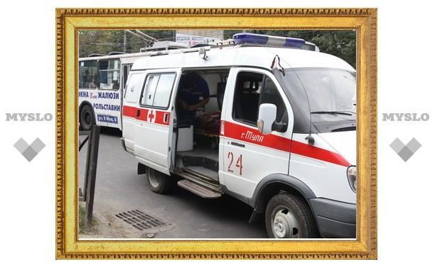 В Туле мотоциклист сбил пешехода