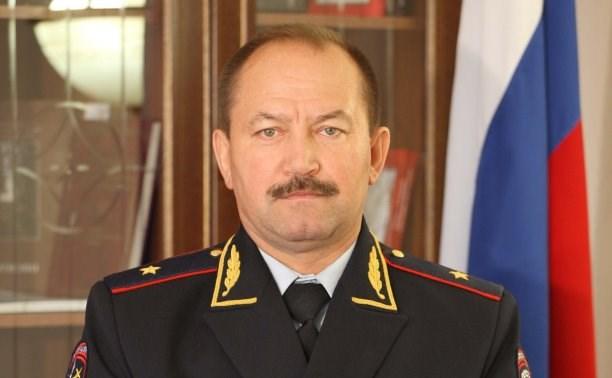 Глава тульского УМВД Сергей Галкин поздравил коллег с Днем полиции