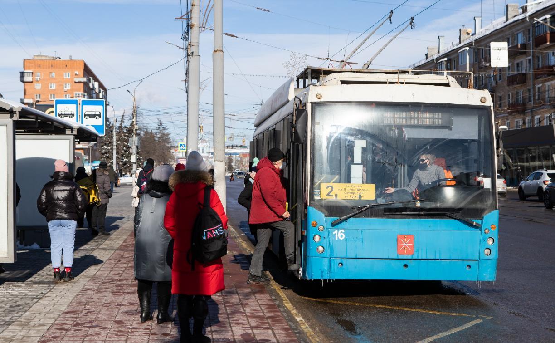 В Туле на улице Советской и проспекте Ленина ограничат движение троллейбусов