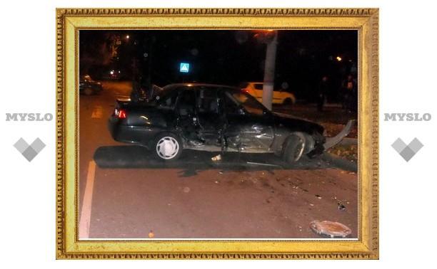 В результате ДТП в центре Тулы ранены 5 человек