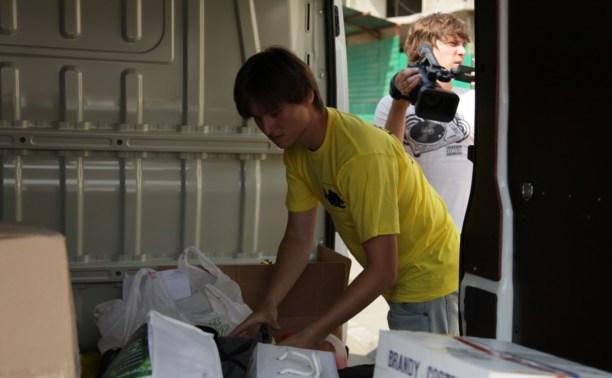 Гуманитарный автопоезд Killfish прибыл в Донецк