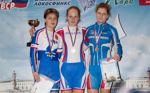 Тульская велосипедистка завоевала бронзу на Кубке России