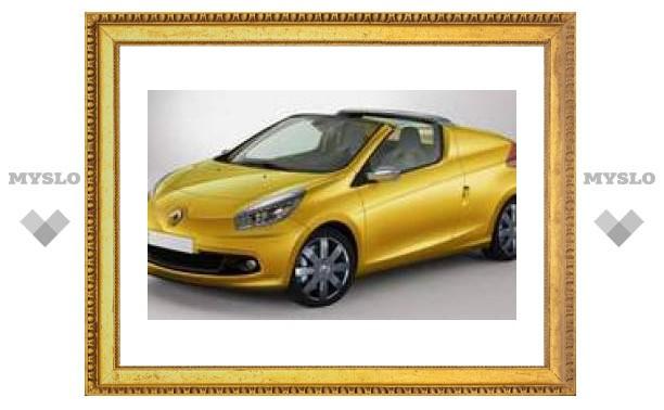 Во Франкфурте Renault покажет кабриолет на базе Twingo