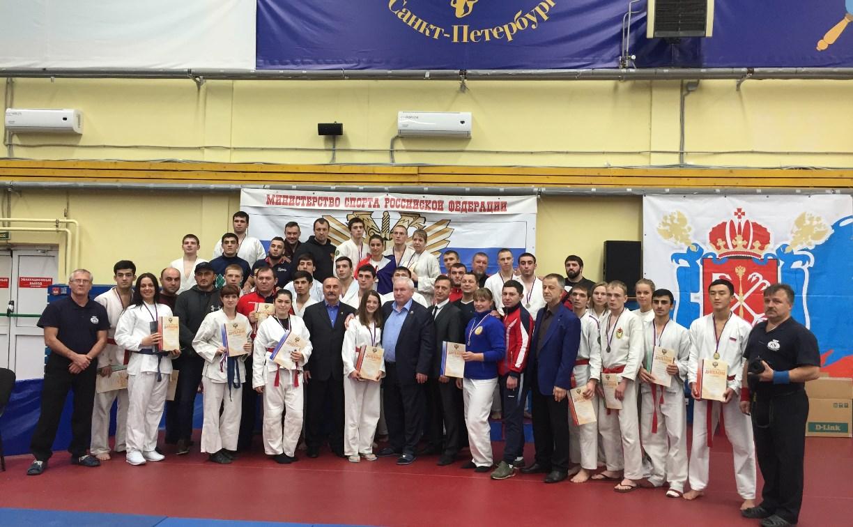 Туляк занял первое место на соревнованиях по рукопашному бою