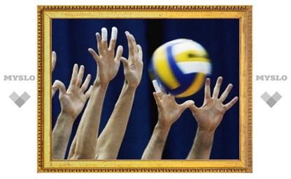 Тульские волейболистки вступили в борьбу за чемпионство