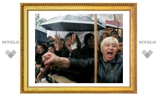 Грузинская оппозиция выдвинула новый ультиматум