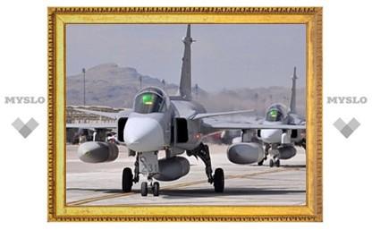 Полеты истребителей Gripen в Ливии прекращены из-за американского топлива
