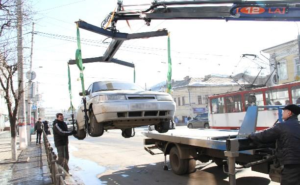 В Госдуме предложили эвакуировать авто, только если они мешают проезду