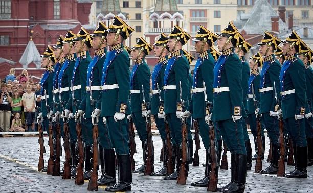 На День России туляки увидят развод караулов Президентского полка