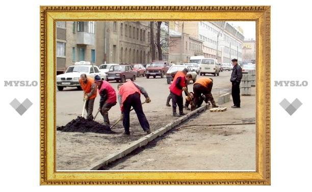 В Туле отремонтировано 210 улиц