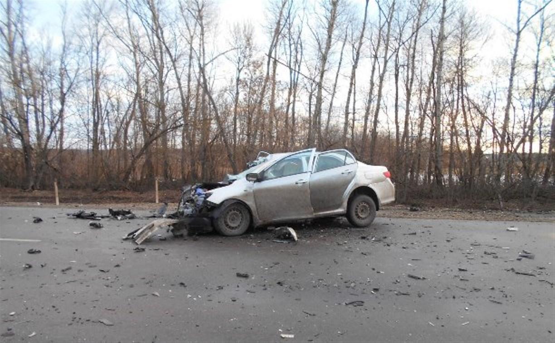 В Ефремовском районе в результате ДТП погибла 29-летняя женщина