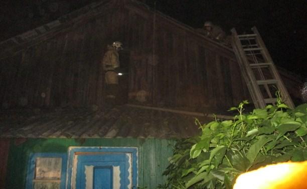 За ночь в Тульской области на пожарах погибли три человека