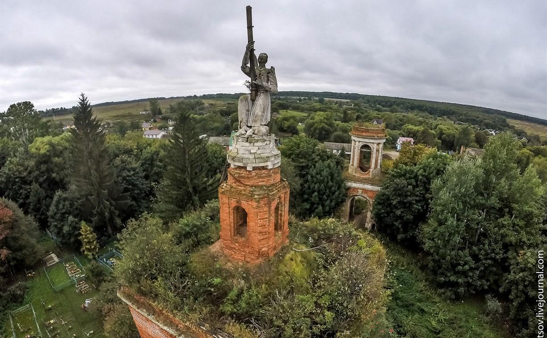 В Тульской области восстановят уникальный храм Спаса Нерукотворенного Образа