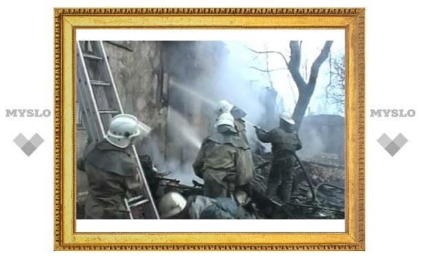 За Рождество в Тульской области случилось три пожара