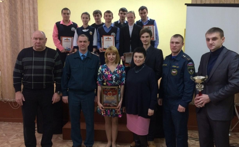 В Тульской области определили лучшую дружину юных пожарных