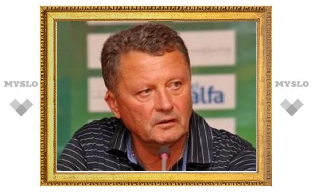 Отставка тренера сборной Украины по футболу принята