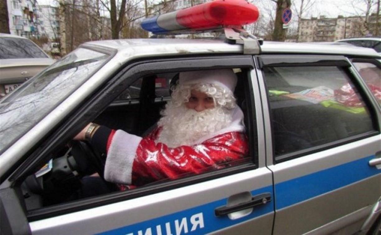 В Туле стартовала детская акция «Напиши Полицейскому Деду Морозу»
