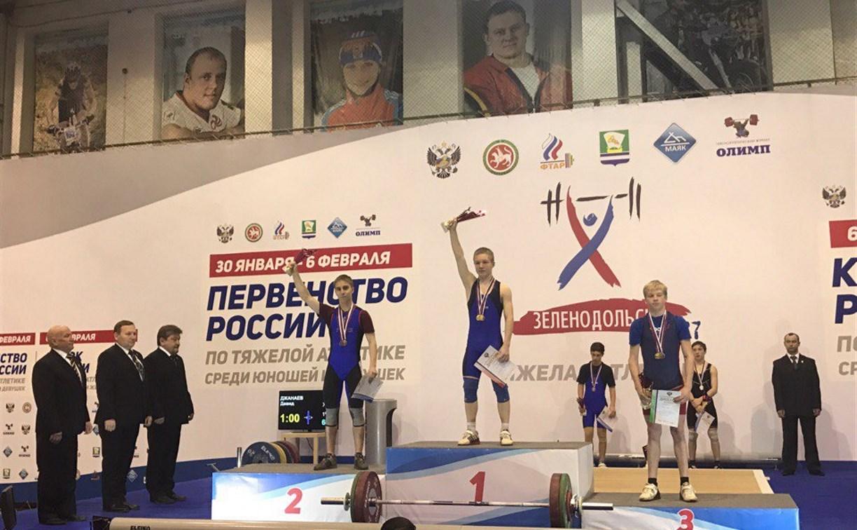 Тульский тяжелоатлет завоевал серебро на первенстве России