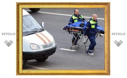 Под Тулой «МАЗ» сбил двух пешеходов