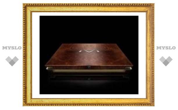 Первая фотография ноутбука за $1 млн.