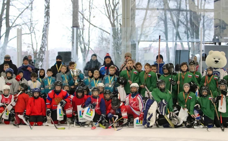 В Новомосковске завершился Кубок Федерации хоккея Тульской области среди дворовых команд